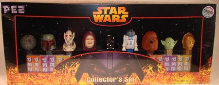 2005 Star Wars Pez Collectors Set