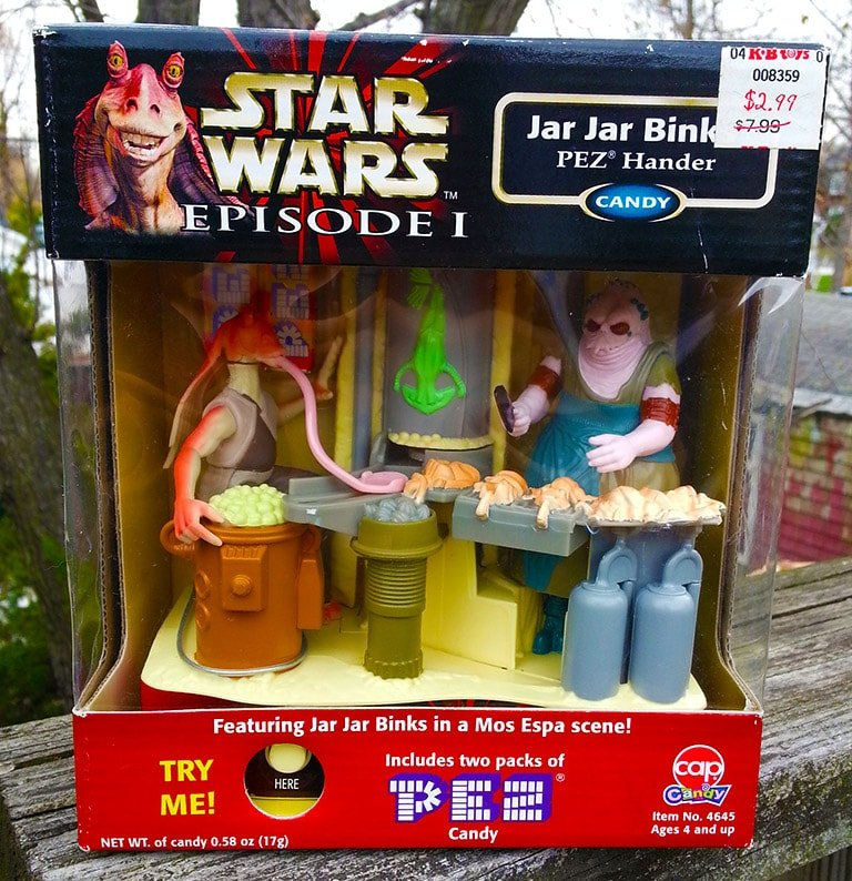 Giant Pez of Star Wars Set