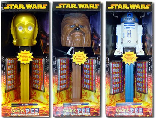 Star Wars Giant PEZ 2005