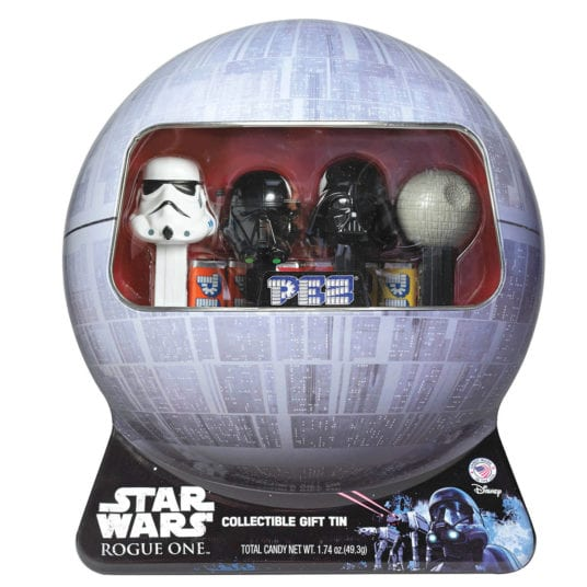 Star Wars Rogue One PEZ Candy Dispensers in Collectible Tin 2016