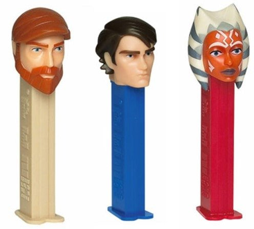 Star Wars The Clone Wars 2009 PEZ